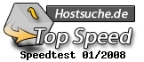Hostsuche.de: 01/08 - Top Speed